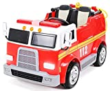 Actionbikes Motors Kinder Elektroauto Feuerwehr LL911 - 2 x 45