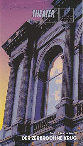 Programmheft Der zerbrochne Krug. Lustspiel von Heinrich von Kleist. Premiere 26. Januar 1995 Spielzeit 1994 / 95 Heft 17