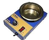 Creuset Tonneau pour soudure stagnatura diamètre 100mm 2,2kg 300W.