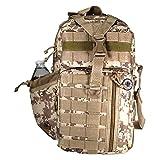 Nexpak 18' 1200cu. in. Tactical Sling Shoulder Hiking Backpack TL318 DMTAN Digital Camouflage