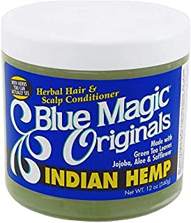 Blue Magic Indian Hemp Conditioner, 12 Ounce