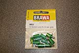 Brawa 3053 10 Stecker rund, gruen -
