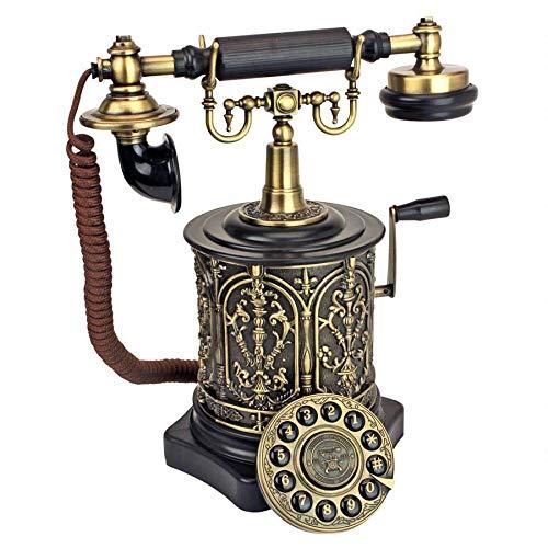 Design Toscano PM1893 Corded Retro Phone - Vintage Decorative Telephones, Black