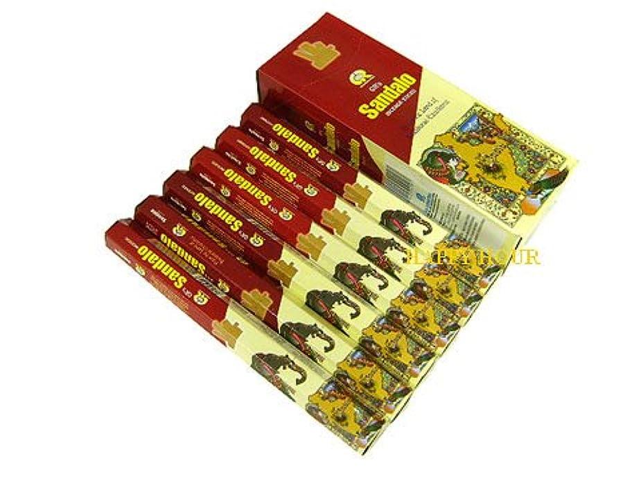 バリー端末ワイプG.R.INTERNATIONAL(ジーアールインターナショナル) サンダル香 スティック SANDALO 6箱セット