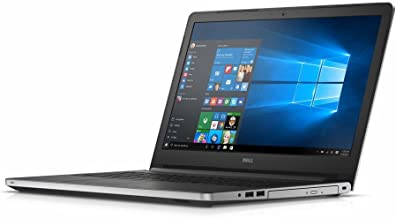 Dell Inspiron 15.6-inch 5000 Series HD Laptop PC, AMD Quad Core A10-8700P 1.8GHz, 12GB DDR3 SDRAM, 1TB HDD, DVD +/- RW, Radeon R6 Graphics, WebCam, Bluetooth, HDMI, WiFi, Windows 10-Silver