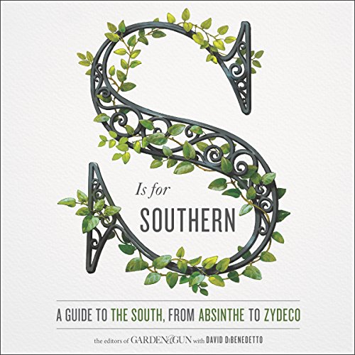 S Is for Southern audiobook cover art