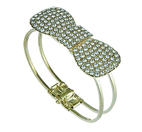 Por aiiá lazo en oro con circonitas brillantes tapa SM01, pulsera joyas merlas, diseño de alfombra oriental