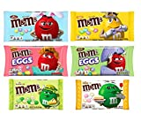 6 FLAVOR SAMPLER: In this 6 flavor sampler you'll get Milk Chocolate (10 oz), Peanut Butter Eggs (9.2 oz), Key Lime Pie (7.44 oz), Peanut (10 oz), White Chocolate Cheesecake (7.44 oz), and Milk Chocolate Eggs (10 oz). LIMITED EDITION M&M'S: These are...