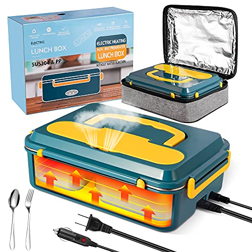 Electric Lunch Box for Car and Home