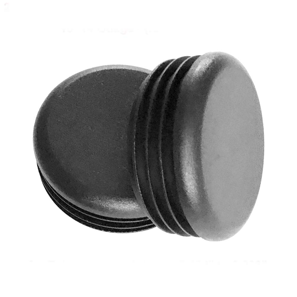for Hole Size from 1 5//16 to 1 1//2, 33-38mm, Including 1 3//8 inches Black, 4pcs Furniture Finishing Plug 40mm Round Plastic End Cap