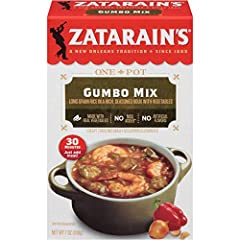 New Orleans-style Gumbo Mix with long grain rice in a seasoned roux with red and green bell peppers DID YOU KNOW? Gumbo is the quintessential dish of New Orleans, a city of diverse influences that formed a new culture greater than the sum of its part...