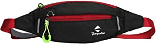 Slim Adjustable Waist Pouch Fanny Pack (Black)
