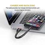EasyAccc-PocketLine-Cavo-Corto-per-iPhone-8-X-6s-Plus-6-Plus-5s-5c-5-iPad-Mini-2-3-iPad-Air-2-iPod-Touch-5G-e-iPod-Nano-7G-15cm-Nero