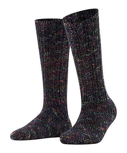 ESPRIT Damen Cozy Boot Socken, blau (Marine 6120), 39-42 (UK 5.5-8 Ι US 8-10.5)