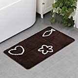 Ultra-dünner saugfähiger Badezimmer-rutschfester Auflage-Punkt-Decken-Matten-Spad-Karikatur-Teppich