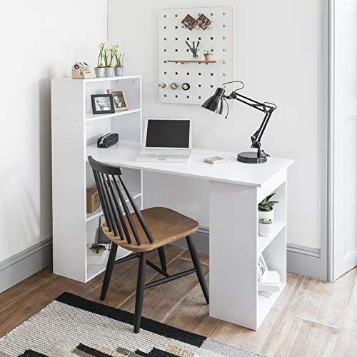 Laura James White Computer Desk Home Office Desk Workstation