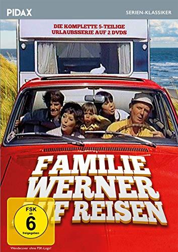 Familie Werner auf Reisen / Die komplette 5-teilige Urlaubsserie (Pidax Serien-Klassiker) [2 DVDs]