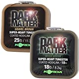 Korda Dark Matter Tungsten Coated Braid Weed Green 10m: 18lb