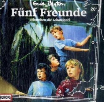 Fünf Freunde - CD / Fünf Freunde - erforschen die Schatzinsel (Hörspiele von EUROPA)