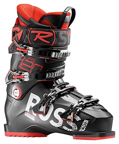 Rossignol Men's Alias 120 Ski Boots (Black/Red, 25.5)