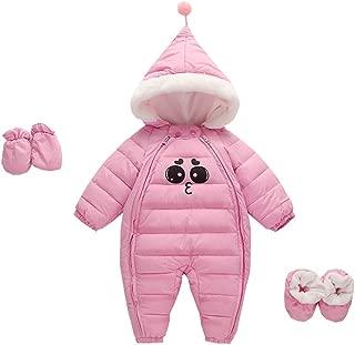 Fairy Baby 3pcs Infant Baby Winter Thicken Warm Outerwear Fleece Hood Jumper Snowsuit