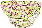 Playshoes Baby - Mädchen Schwimmwindel Badewindel Badehose Rosen UV - Schutz nach Standard 801, Gr. 62 (Herstellergröße: 62/68), Mehrfarbig (original 900)