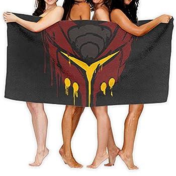 Ratchet and Clank Deadlocked Red Microfiber Beach Towel Shower Swimming Bath Towels Outdoor Blanket Ultra Soft Water Absorption Multi-Purpose Yoga Mat Bath Swim Towel 31x51 Inch