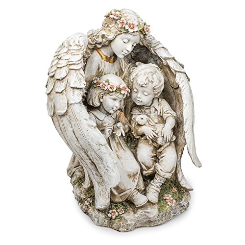 Roman-Joseph's-Studio-Angel-with-Children-Outdoor-Garden-Statue