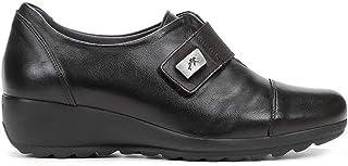 Zapato CUÑA - Mujer - Negro - fluchos - F1071