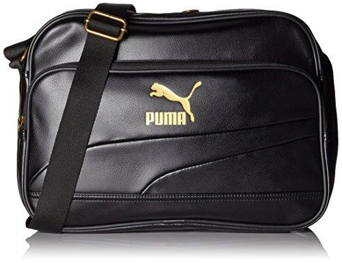 Puma borsa a tracolla Originals Reporter, Unisex, Umhängetasche Originals Reporter, nero, Taglia unica
