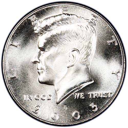 2005 D Satin Finish Kennedy Half Dollar Choice Uncirculated US Mint