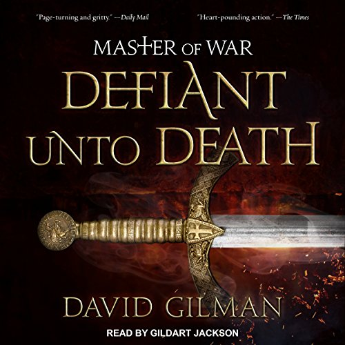 Defiant Unto Death audiobook cover art
