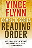 VINCE FLYNN COMPLETE SERIES READING ORDER: Mitch Rapp series in chronological order, all collector's editions,...