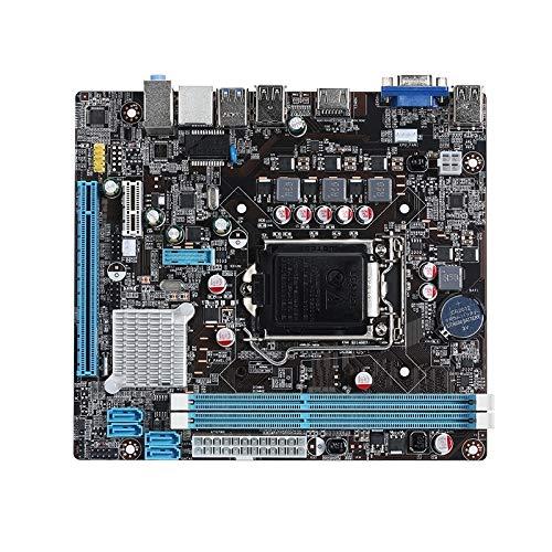 Zhangli Redes de computadoras Placa Base for computadora LGA 1155 DDR3 for el Chip Intel B75, soporta Intel Series de Segunda generación/Tercera generación CPU Redes de computadoras