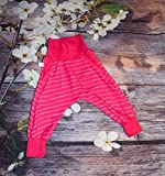 Checkerhose Rosa Stripes, Pumphose, Haremshose 80 Unikat