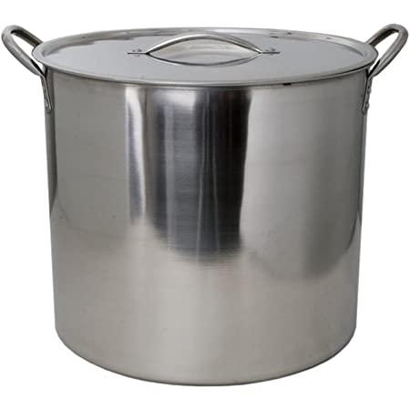 Amazon Com 5 Gallon Stainless Steel Stock Pot With Lid Industrial Scientific