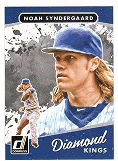 2019 Panini Diamond Kings Portraits #15 Noah SyndergaardYork Mets Baseball Card