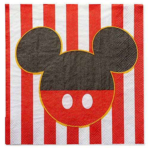 Mickey Mouse Classic Party Lunch Napkins - 16 Count