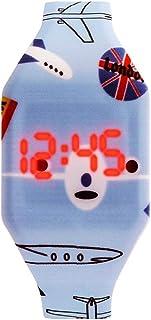 Orologio Bambino ZWRY Orologi per bambini dei cartoni animati Orologio digitale a LED carino Orologio elettronico per stud...