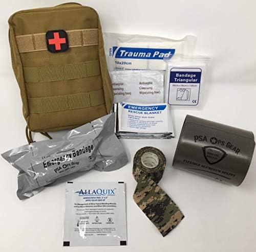 Field Medic Emergency Trauma First Aid Kit IFAK with Splint AllaQuix Stop Bleeding Gauze and product image