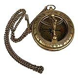 LAOJUNLU Un reloj de bolsillo de cobre estilo brújula 11 de bronce antiguo colección de solitario estilo tradicional chino