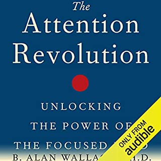 The Attention Revolution audiobook cover art