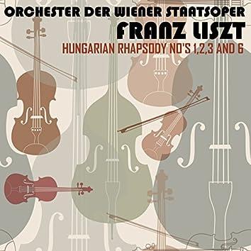 Liszt: Hungarian Rhapsody Nos 1, 2, 3 & 6