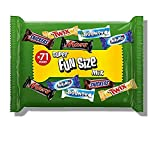 Mars Snickers, Twix & More Assorted Fun Size Chocolate Bars, Halloween Party Bag Fillers, 1.4 kg, 71 Bars