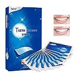 Tiras de Blanqueamiento Dental, blanqueador de dientes, blanqueador de dientes tiras, blanqueamiento dental natural con sabor a menta para mejorar el café, las manchas de té, 28 piezas