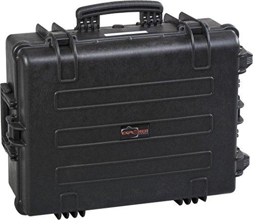 Explorer Cases 7630 O Waterproof Dustproof Multi-Purpose Protective Case Koffer leeg, met wielen Eén maat zwart