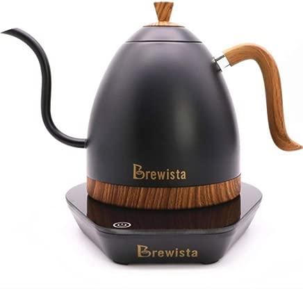 1 pc Brewista Artisan constant temperature 600ml gooseneck variale temperature control kettle coffee pot,Crane color random,China