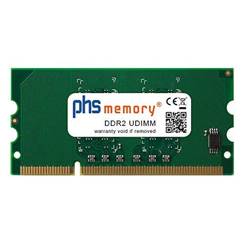 PHS-memory 256MB Drucker-Speicher passend für Brother HL-5450DN DDR2 UDIMM 667MHz