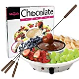 Best Electric Fondue Pots - Chocolate Fondue Maker - 110V Electric Chocolate Melting Review