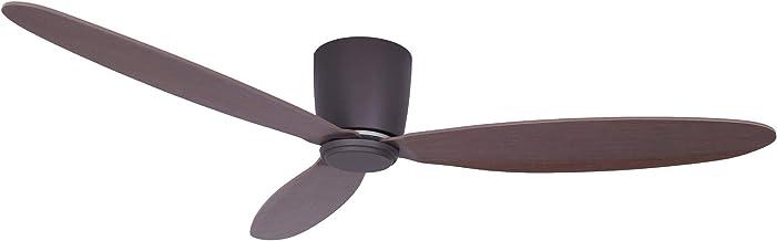 Airfusion Radar Plafondventilator, moderne ventilator met ultralichte multiplex vleugels, met zomer-wintermodus, incl. afs...